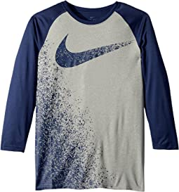 Nike Kids Dry Legend 3/4 Sleeve Training T-Shirt (Little Kids/Big Kids)