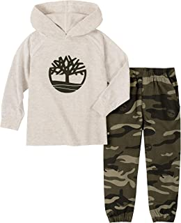 Timberland Boys' 2 Pieces Hooded Pant Set