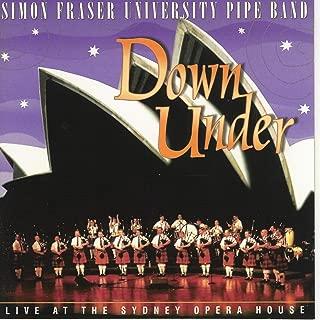 simon fraser university pipe band down under
