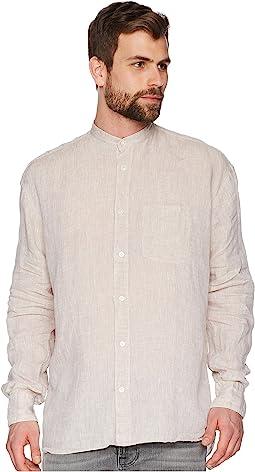 eleventy - Korean Collar Shirt