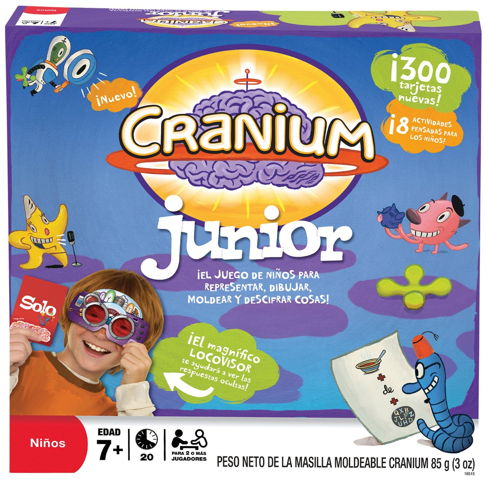 Hasbro Juegos de Adultos Cranium Junior 16515105: Amazon.es: Juguetes y juegos