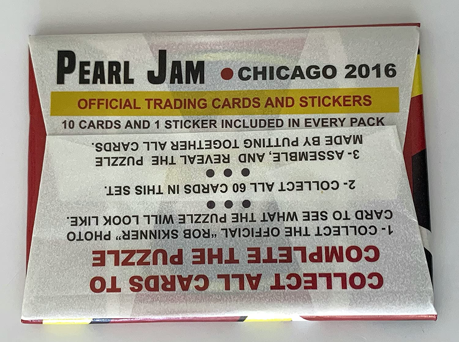 Packs Sports Collectibles Pearl Jam baseball card pack 2016 ...