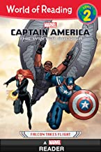 World of Reading Captain America: The Winter Soldier: Falcon Takes Flight (A Marvel Reader): Level 2 (World of Reading (eB...