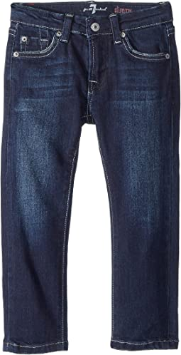 7 For All Mankind Kids Slimmy Jeans in Los Angeles Dark (Toddler)