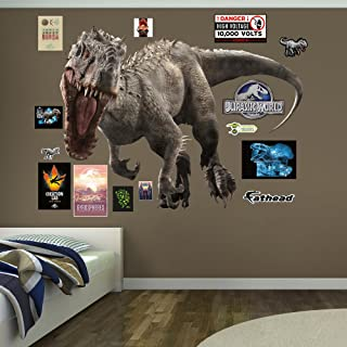 FATHEAD Indominus Rex: Jurassic World-Huge Officially Licensed Removable Wall Decal