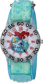 Girls Princess Ariel Analog-Quartz Watch with Nylon...