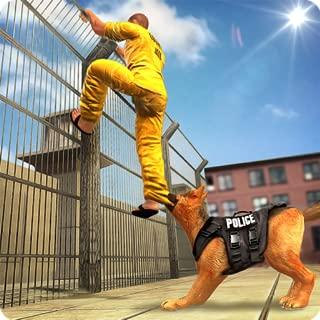 Prison Escape Police Dog Chase Gangsters Escape Survival 3D: Prisoner Jail Breakout Criminal Mission Sim Games For Kids 2018