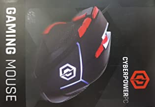 CyberpowerPC Standard 4000 DPI with Weight System Optical Gaming Mouse