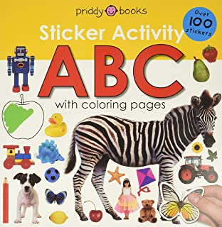 Sticker Activity ABC: Over 100 Stickers with Coloring Pages [With Over 100 Stickers] (Early Learning: Sticker Activity)