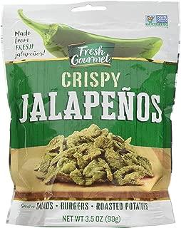 Fresh gourmet Crispy Jalapenos, Lightly Salted, 3.5-Ounce (pack of 12)