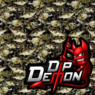 Fish O Flage Camo Hydrographic Water Transfer Film Hydro Dipping Dip Demon Wizard Ape