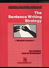 The Sentence Writing Strategy : Student Lessons and Instructor's Manual (2 books) (Learning Strategies Curriculum)