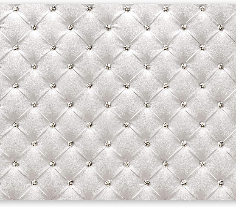Murando - Fototapete Leder-Optik 400x280 cm - Vlies Tapete - Moderne Wanddeko - Design Tapete - Wandtapete - Wand Dekoration - wei modern f-B-0039-a-a