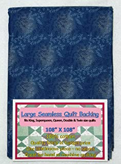 Quilt Backing, Large, Seamless, C47603-207, Dark Blue, from AQCO