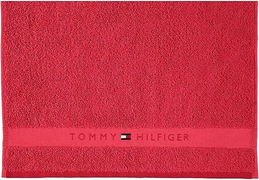 Tommy Hilfiger Legend2 Serviettes Beige Coton G/ästetuch 40x60 cm Vert sapin
