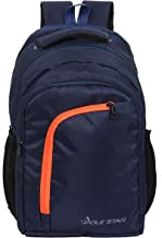 POLESTAR Space Navyorg 36 LTR Casual Travel bagpack/School Backpack Bag