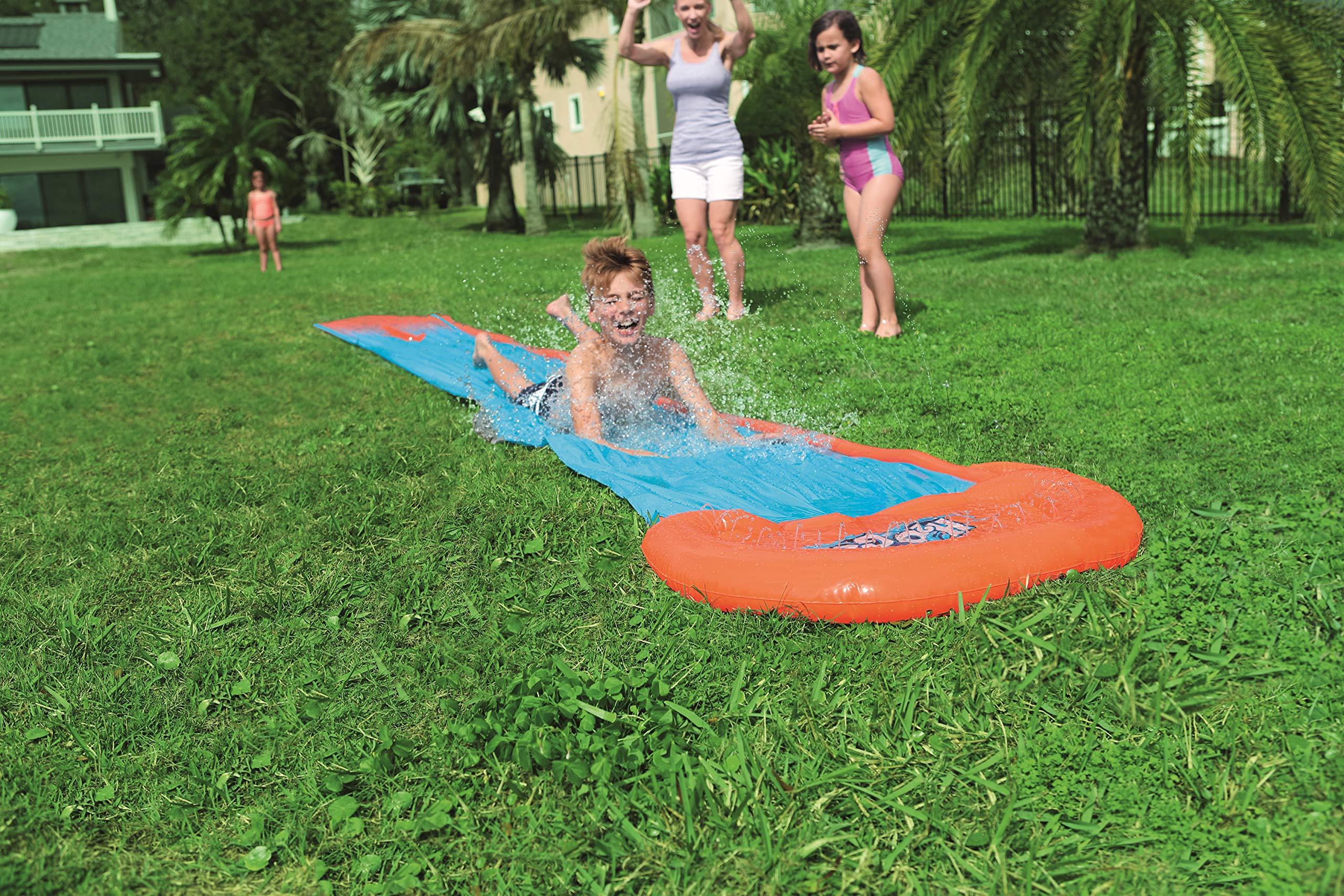Pista Deslizante Hinchable Bestway H2O Go! Individual 549 cm ...