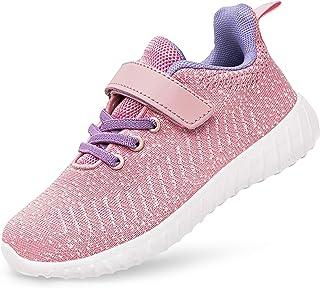 Boys Girls Sneakers Breathable Mesh Big Little Kids...