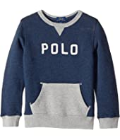 Polo Ralph Lauren Kids - Cotton French Terry Sweatshirt (Little Kids/Big Kids)