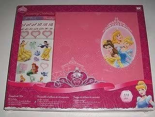 Disney(R) 8.5 Inch x8.5 Inch Postbound Album Scrapbook Kit - Princess