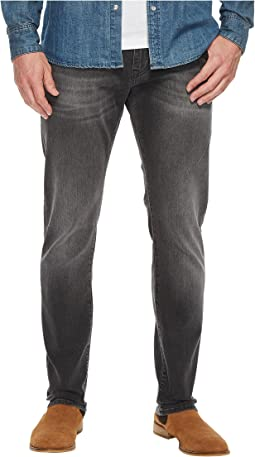 Mavi Jeans - Jake Regular Rise Slim in Grey Distressed Williamsburg