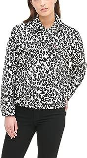 Levi's Womens LW9RP072 Wool Blend Classic Trucker Jacket Wool Blend Coat