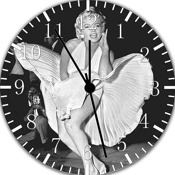 Marilyn Monroe Borderless Frameless Wall Clock E385 Nice For Decor Or Gifts
