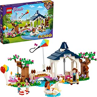 LEGO 41447 Friends Heartlake City Park Fairground Playset, Birthday Party with Emma and Olivia