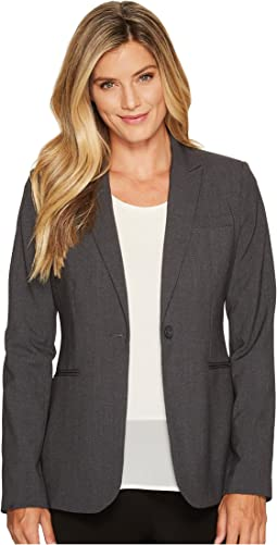 0ac5ce2804d Calvin klein long jacket with suede and faux leather