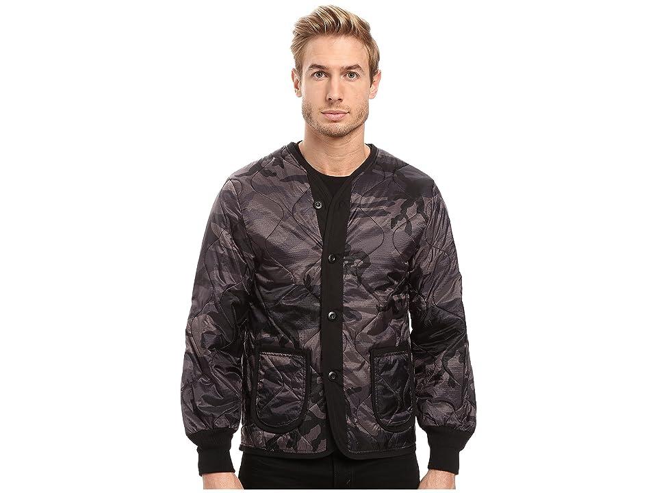 Image of Alpha Industries Defender Jacket Liner (Black Camo) Men's Coat