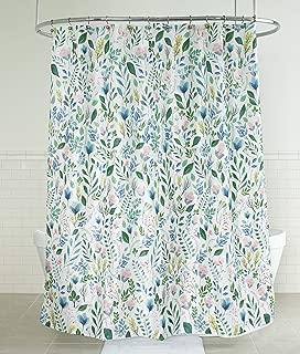 Splash Home 71SIAFL/FPMLTSPL Sia Floral Polyester Fabric Shower Curtain, 70