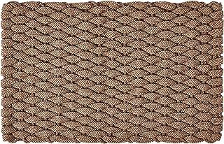 """Rockport Rope Doormats 3048224 Indoor & Outdoor Doormats, 30"""" x 48"""", Tan"""
