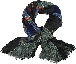 3d17af9a78 Ella Jonte FOULARD ÉCHARPE HOMME tendance by gris bleu rouge très chic