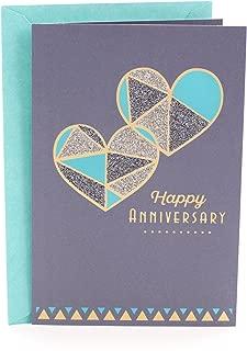 Hallmark Anniversary Greeting Card (Two Hearts)