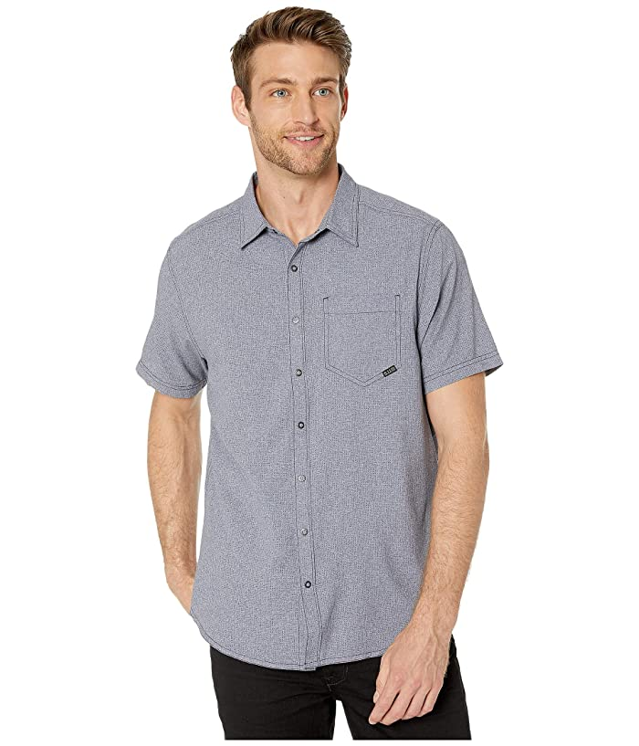 5.11 Tactical  Evolution Short Sleeve Shirt (Mystic Heather) Mens Clothing