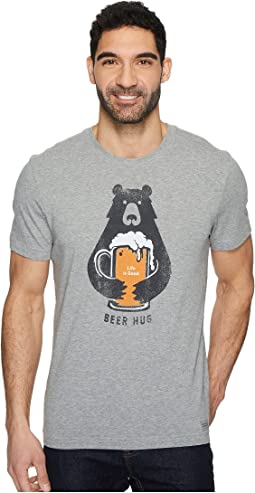 Life is Good - Beer Hug Crusher Tee