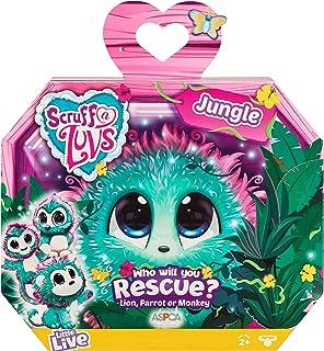 Little Live Scruff-a-Luvs - Jungle - Plush Mystery Rescue Pet