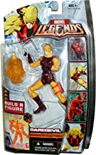 Marvel Legends 2007 Exclusive Nemesis Series 6 Inch Tall Action Figure - Yellow DAREDEVIL with Nunchakus and Nemesis Lower Torso