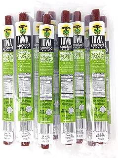 Original Flavor, Iowa Smoked Recipe, Sugar Free, 100% Grass-Fed, Keto & Paleo Friendly: No MSG, Gluten or Soy (Original - Iowa Smoked Recipe, 12 Count)