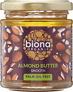 Biona Organic Almond Butter - Smooth, 170g