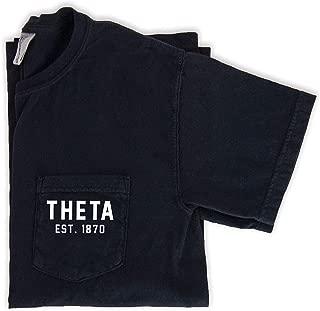 Kappa Alpha Theta est. 1870 Pocket Tee by Go Greek Chic | Sorority Shirt