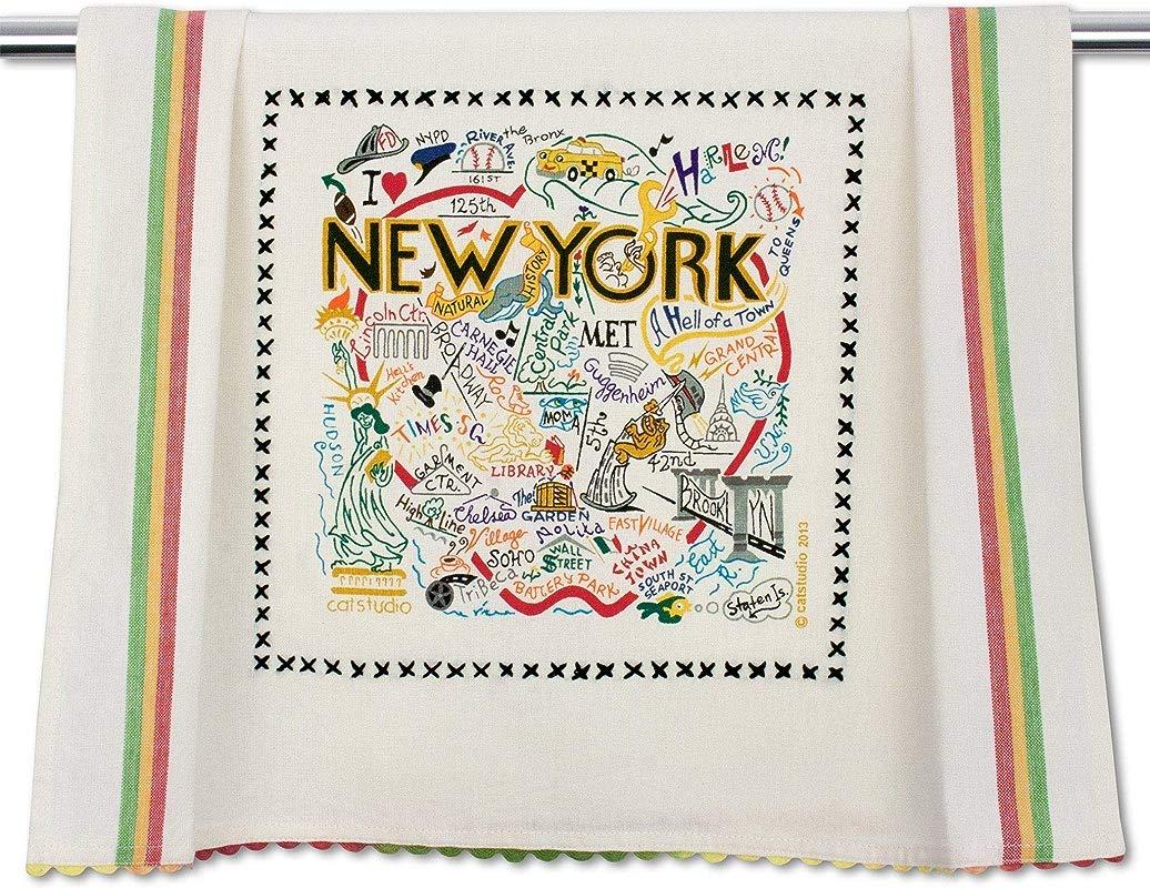 Catstudio New York City Dish Hand Towel Beautiful Award Winning Home Decor Artwork Great For Kitchen Bathroom