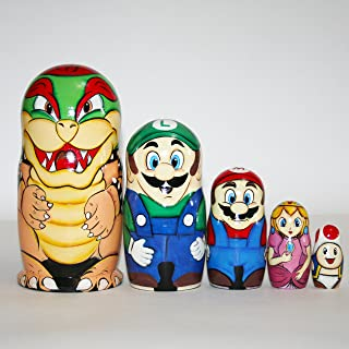 Nesting dolls Super Mario for Kids 7