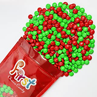 m&m Christmas Mix Milk Chocolate Candy 2 Pound Resealable Pouch Bag