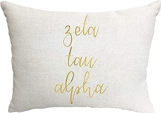 Zeta Tau Alpha Sorority Throw Pillow