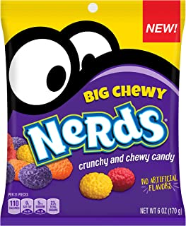 Nerds Big Chewy Candy, 6 Ounces (Pack of 12)