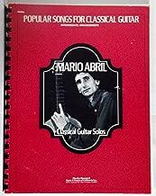Classical Guitar Solos: Popular Songs For Classical Guitar, Intermediate Arrangements