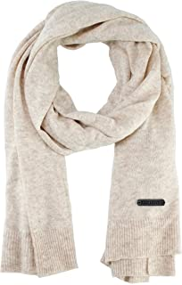 Bruceriver Ultra Soft Wool Blend Solid Knit Scarf for Women and Men