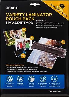 Texet - Láminas para plastificar fotos (50 unidades)