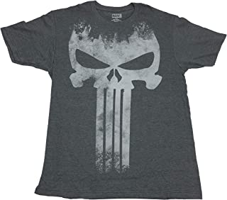 The Punisher Marvel Big Skull Logo Frank Castle T Shirt